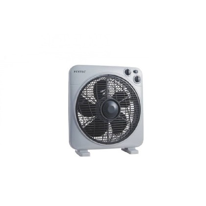 PENTEC Box Fan TAC-1608A (12″) 3 Speed Settings Table Fan
