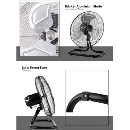 PENTEC Fan TAC-1661 Floor Fan 18 Inch Steel Industrial Fan