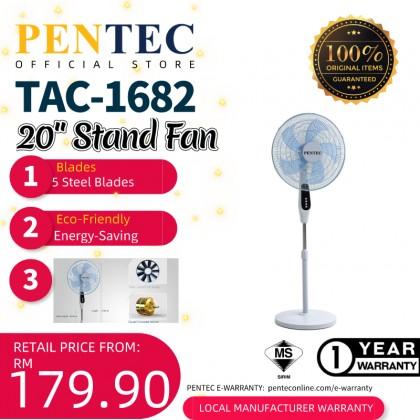 """PENTEC Stand Fan 20"""" TAC-1682 KIPAS BERDIRI New Design"""